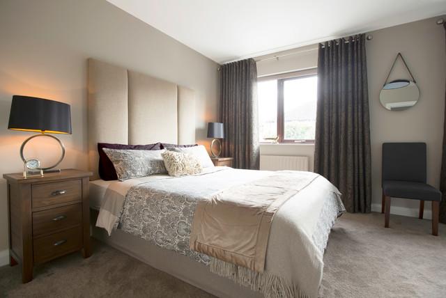 3 Bed Semi Detached Refurbishment Extension Modern Bedroom Dublin By Carton Interiors