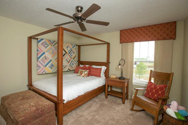 3 Pillar Craftsman Parade Home craftsman-bedroom