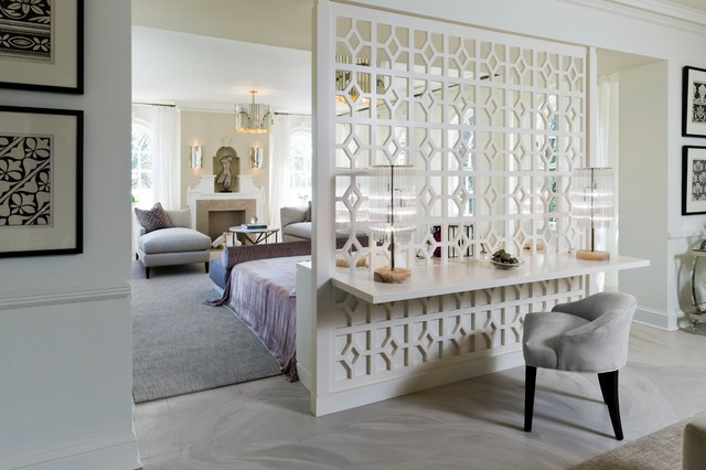 30s Glamour Contemporary Bedroom