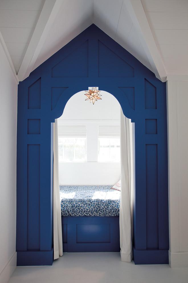 Inspiration for a coastal guest bedroom remodel in Philadelphia