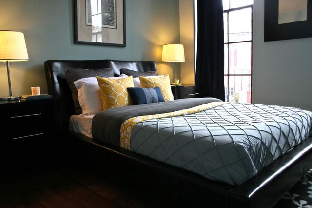 3XX Queen Street contemporary-bedroom