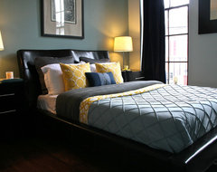 3XX Queen Street contemporary bedroom