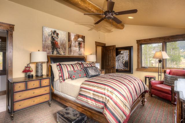 411 Long Ridge rustic-bedroom