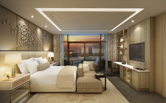 5 Star Hotel Project Modern Bedroom Los Angeles By Sara Ho Design Llc