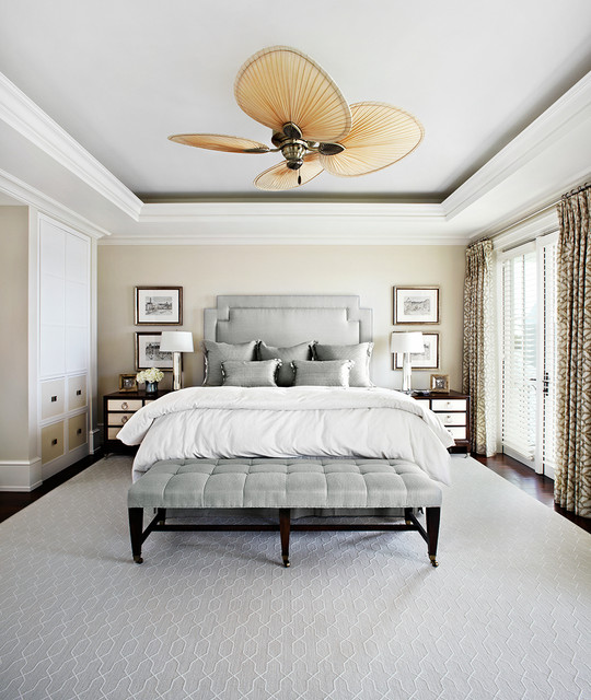 Transitional Bedroom Decor: 50 Shades Of....Luxury