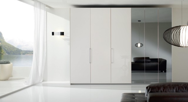 6 Doors Modern Bedroom Closet Bony Mirror By Spar Italy