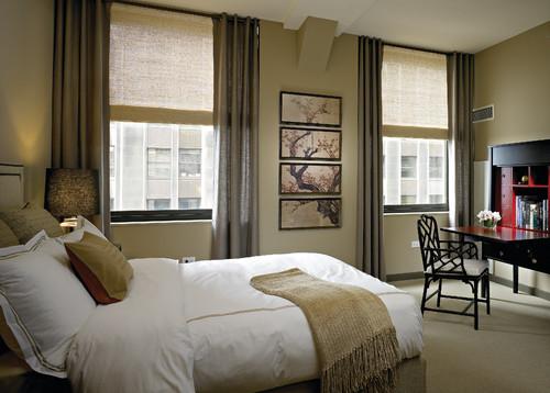 Bedroom wall color - Visillos para salones ...
