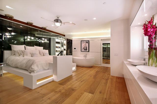 604 Acacia - Brandon Architects - Patterson Construction  http://www.brandonarch contemporary-bedroom