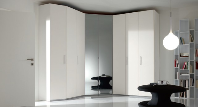 8 Hinged Doors Corner Bedroom Closet Spar Coren - $5,399.00 - Modern - Bedroom - new york - by ...