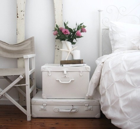 A Beach Cottage shabby-chic-style-bedroom