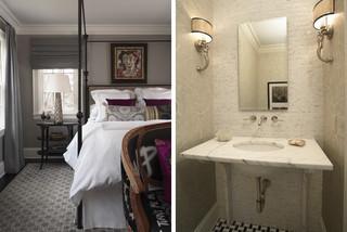 A Bedroom Bath Contemporary Bedroom Minneapolis By Mary Hickey Interiors