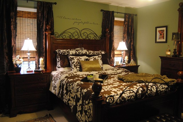 A Client's $500 Budget Makeover traditional-bedroom
