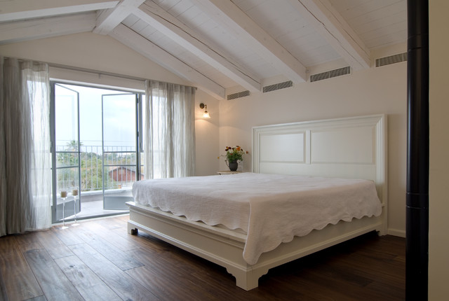 A COUNTRY HOME contemporary-bedroom