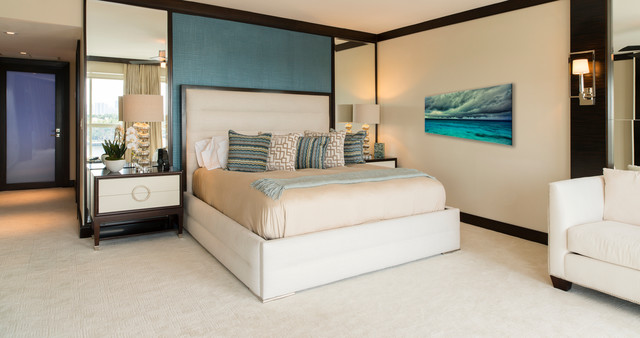 familys fort lauderdale beach retreat contemporary bedroom