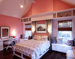 A High School Girls Dream bedroom traditional bedroom
