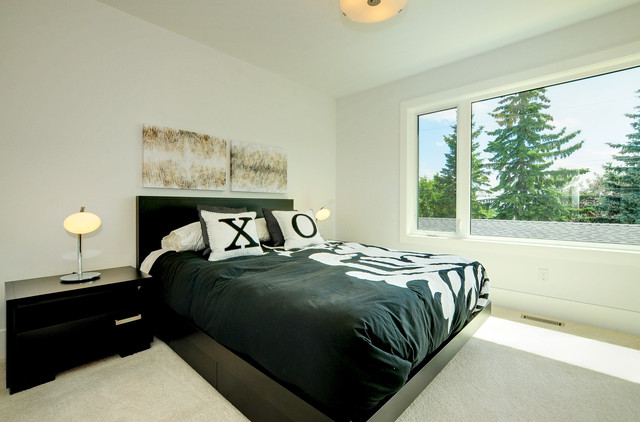 A House with a View contemporary-bedroom
