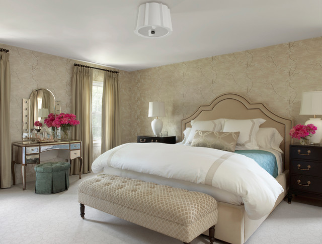 A luxurious master bedroom retreat traditional bedroom Master bedroom retreat design ideas