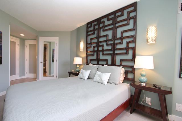 A Mid Century Modern Inspired Condo Midcentury Bedroom