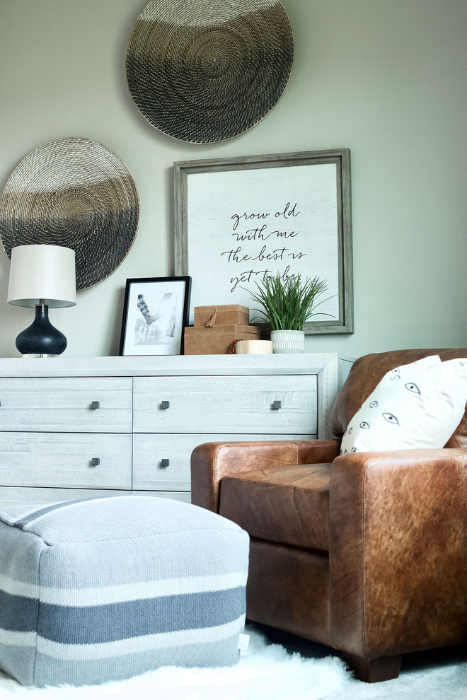 A Mix Of New Vintage Eclectic Bedroom Seattle By The Tin Roof Interior Design Fine Furniture
