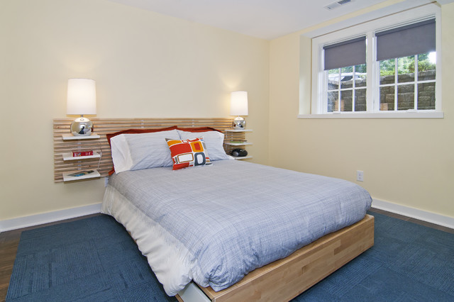 modern bedroom by White Crane Construction