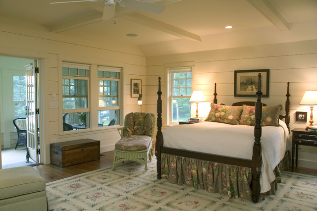 A new maine cottage traditional bedroom for Bedroom ideas country