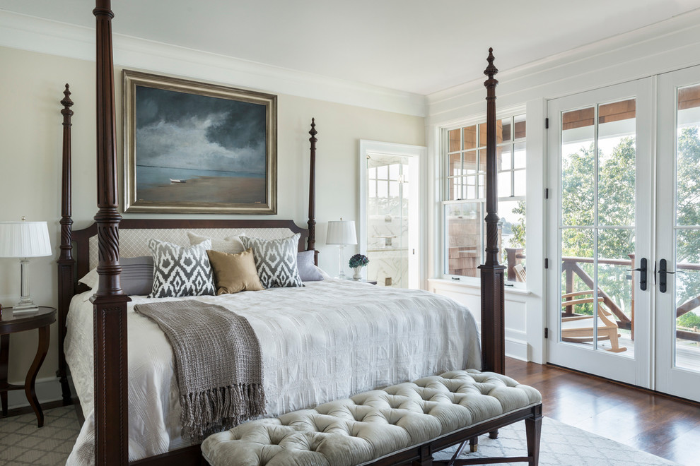 A New Project Classic Seaside Shingle Style Victorian Bedroom
