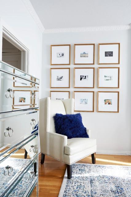 A Parisian Inspired Bedroom Makeover transitional-bedroom