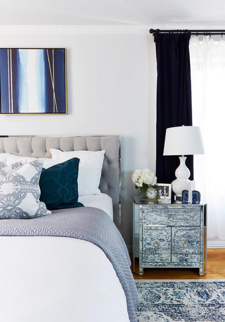 parisian inspired bedroom makeover transitional bedroom los