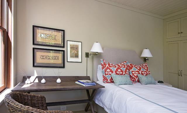 A Reserve Retreat eclectic-bedroom