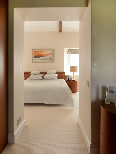 A somerset home contemporary bedroom hampshire by for Interior designers hampshire