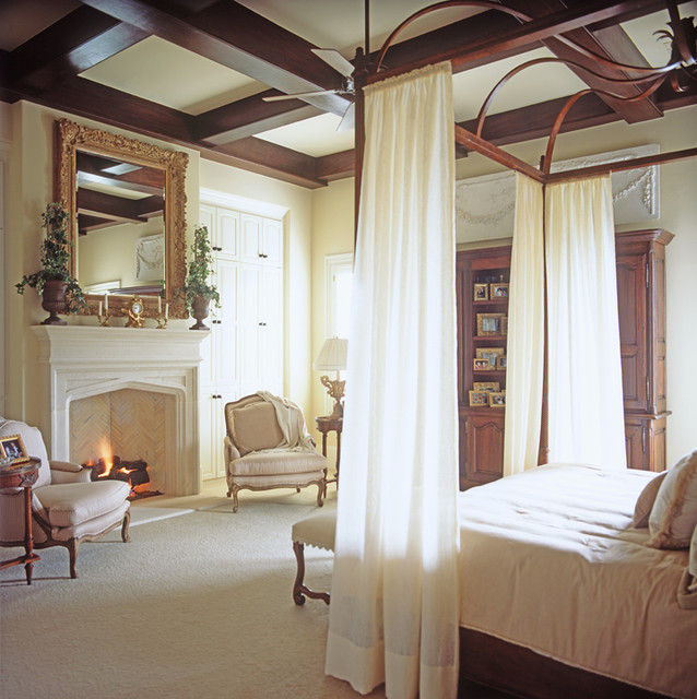 Lake View traditional bedroom