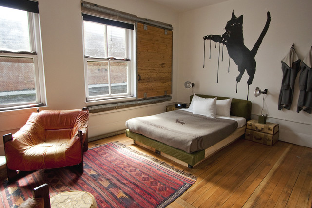 Ace Hotel Portland eclectic-bedroom
