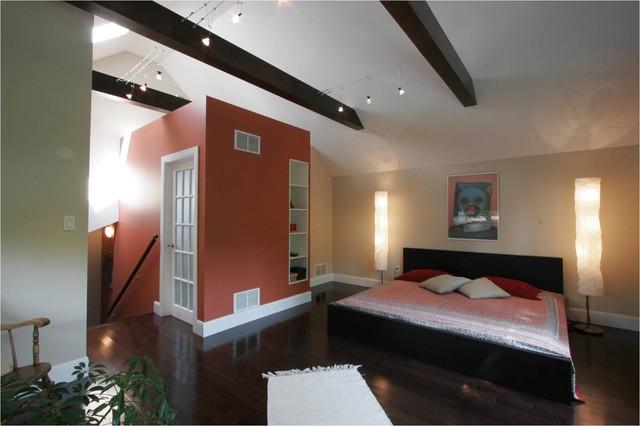 Addition Over Garage Modern Bedroom Toronto By Hot Interior Designs Ltd