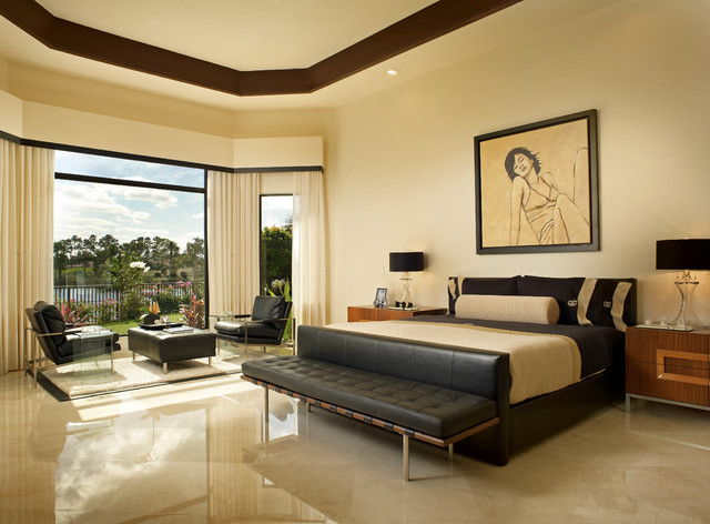 Adelson contemporary-bedroom