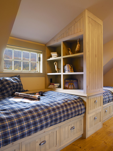 adirondack revival traditional bedroom burlington