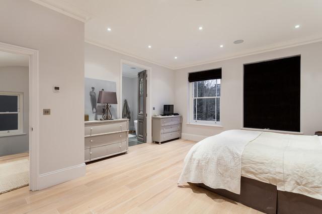 Advantage basements london contemporary bedroom for Advantage basements
