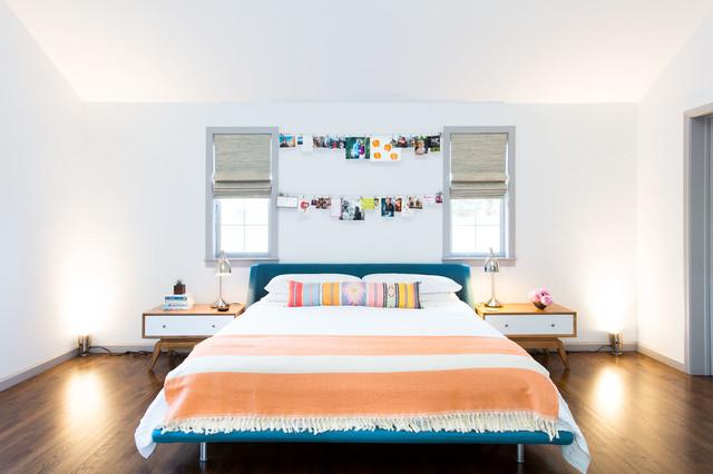 8 astuces pour mettre en sc ne vos images pr f r es au dessus du lit. Black Bedroom Furniture Sets. Home Design Ideas