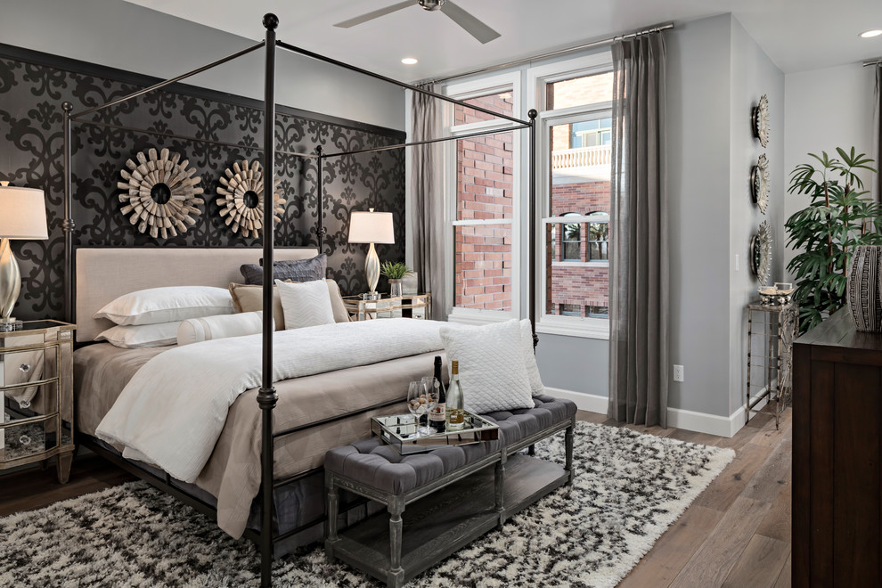 AFT New Model Home - Transitional - Bedroom - Phoenix - by ... on New Model Bedroom Design  id=68019