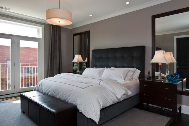 Aldine Avenue contemporary-bedroom