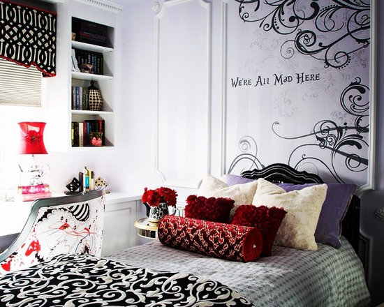 alice in wonderland bedroom design ideas pictures
