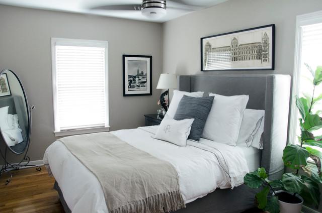 Allandale Bungalow transitional-bedroom