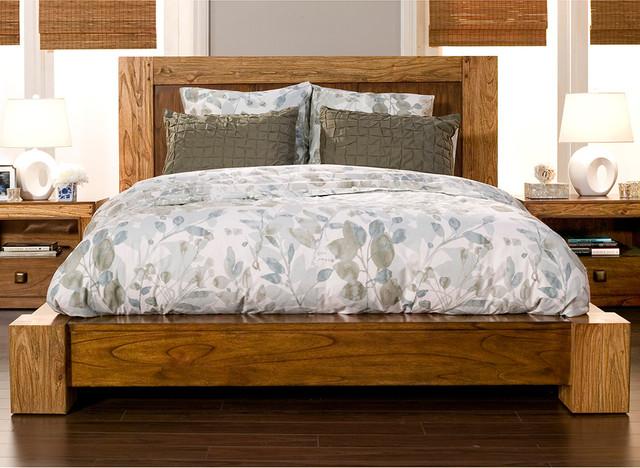Alpine Furniture Jimbaran Bay California King Platform Bed ... on
