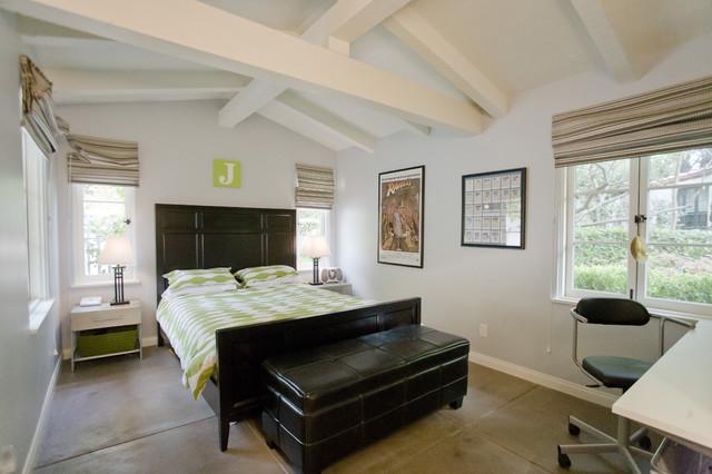 Alta Canyada Bedroom contemporary-bedroom