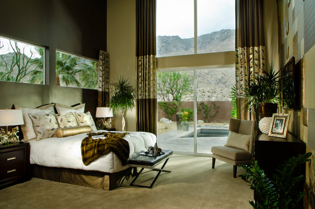 Alta- Toll Brothers at Palm Springs contemporary-bedroom