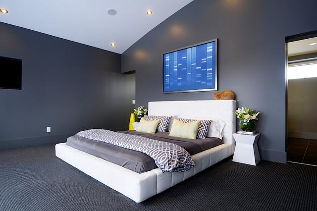 Amanda hamilton interior design modern bedroom for Rooms interior design hamilton