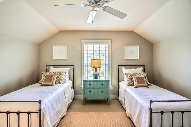 awesome beach style bedroom | Amelia Park Courtyard Home - Beach Style - Bedroom ...