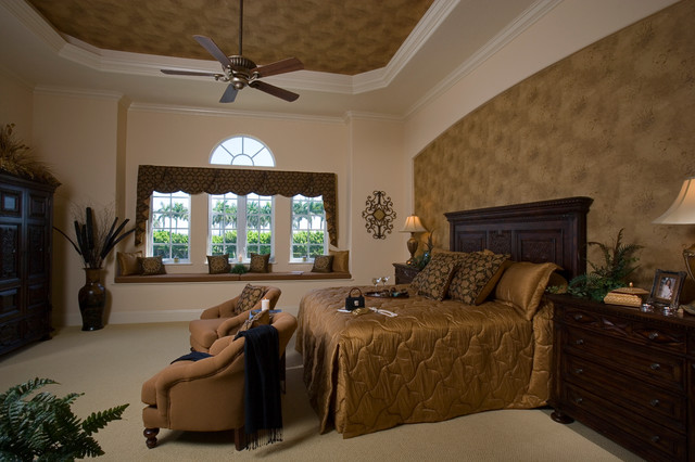 American and Canadian Residential Projects mediterranean-bedroom