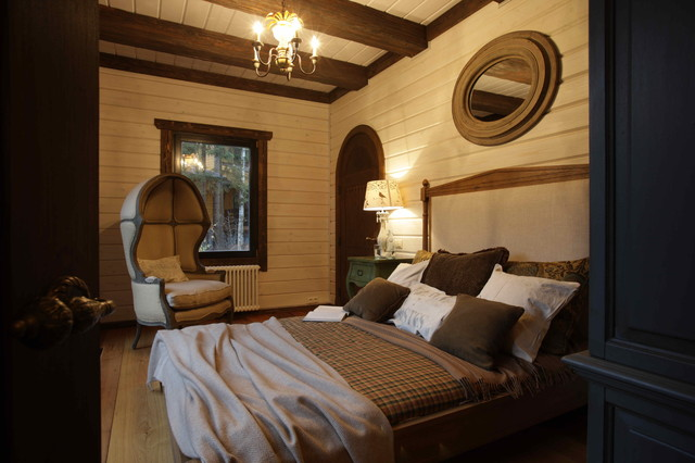 American dream in russia rustic bedroom moscow by for American country style interior design
