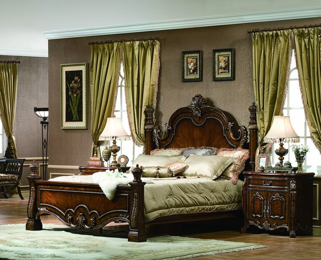 Amherst bedroom set traditional bedroom orange for Bedroom furniture sets orange county