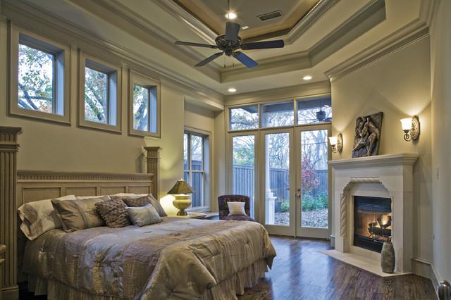 Amherst master bedroom for Mediterranean master bedroom ideas